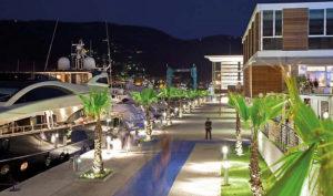 Porto Mirabello dove è ormeggiata la bed & boat