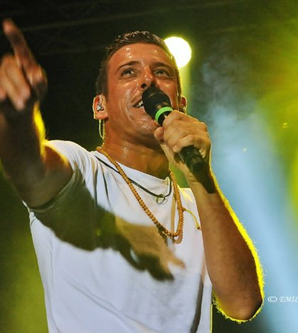 Francesco Gabbani all'Arena del Mare