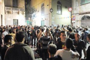 Genova - movida chiusura locali 2:00