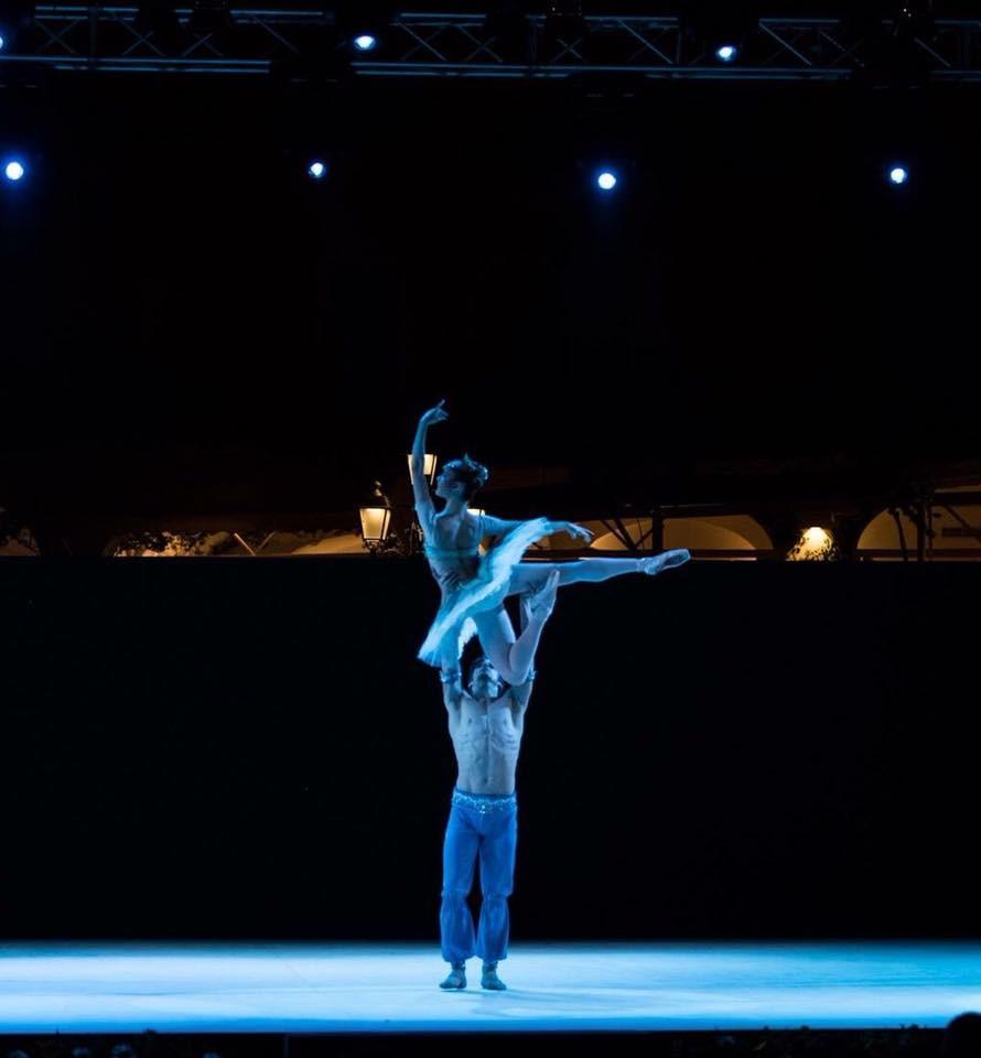 Venerdì danzerà al Teatro Modena di Sampierdarena