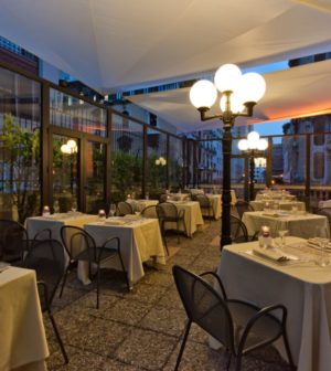 Apre la terrazza del Bristol di Genova, nuova affascinante location ...