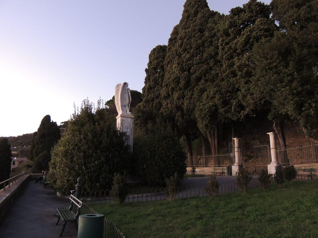 Anche sulla collina di Sant'Ilario sono stati piantati alcuni alberi della Rimembranza