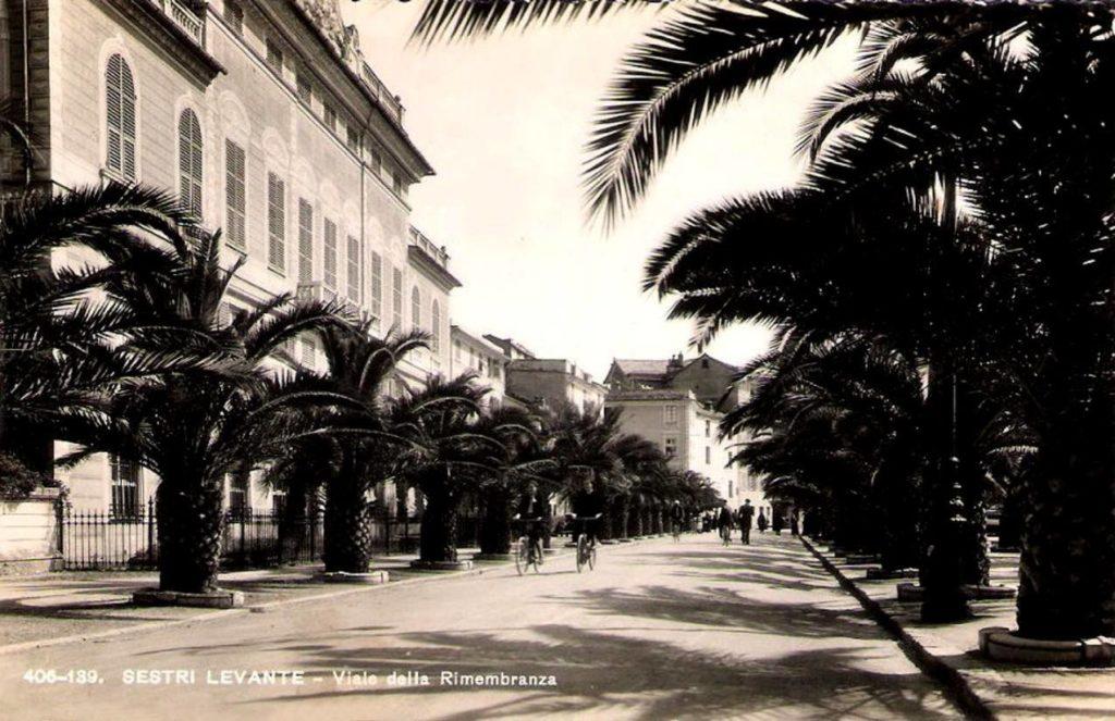 Un'immagine di Via della Rimembranza a Sestri Levante