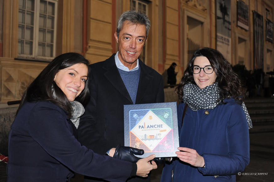 Valeria Guaragno e Stefano Garassino con l'assessore alla Sicurezza, Stefano Garassino