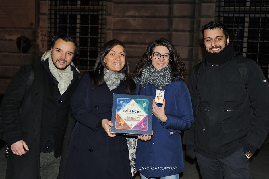 Tomaso Torre, Valeria Guaragno, Giulia Barisone e Claudio Cabona