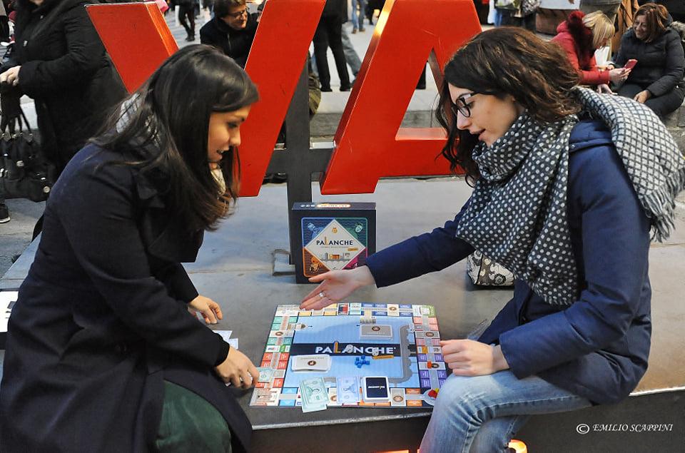 Valeria Guaragno e Giulia Barisone mentre giocano