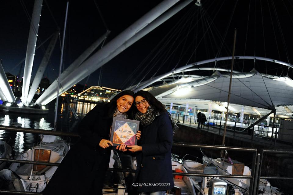 Le due ideatrici di Palanche al Porto Antico