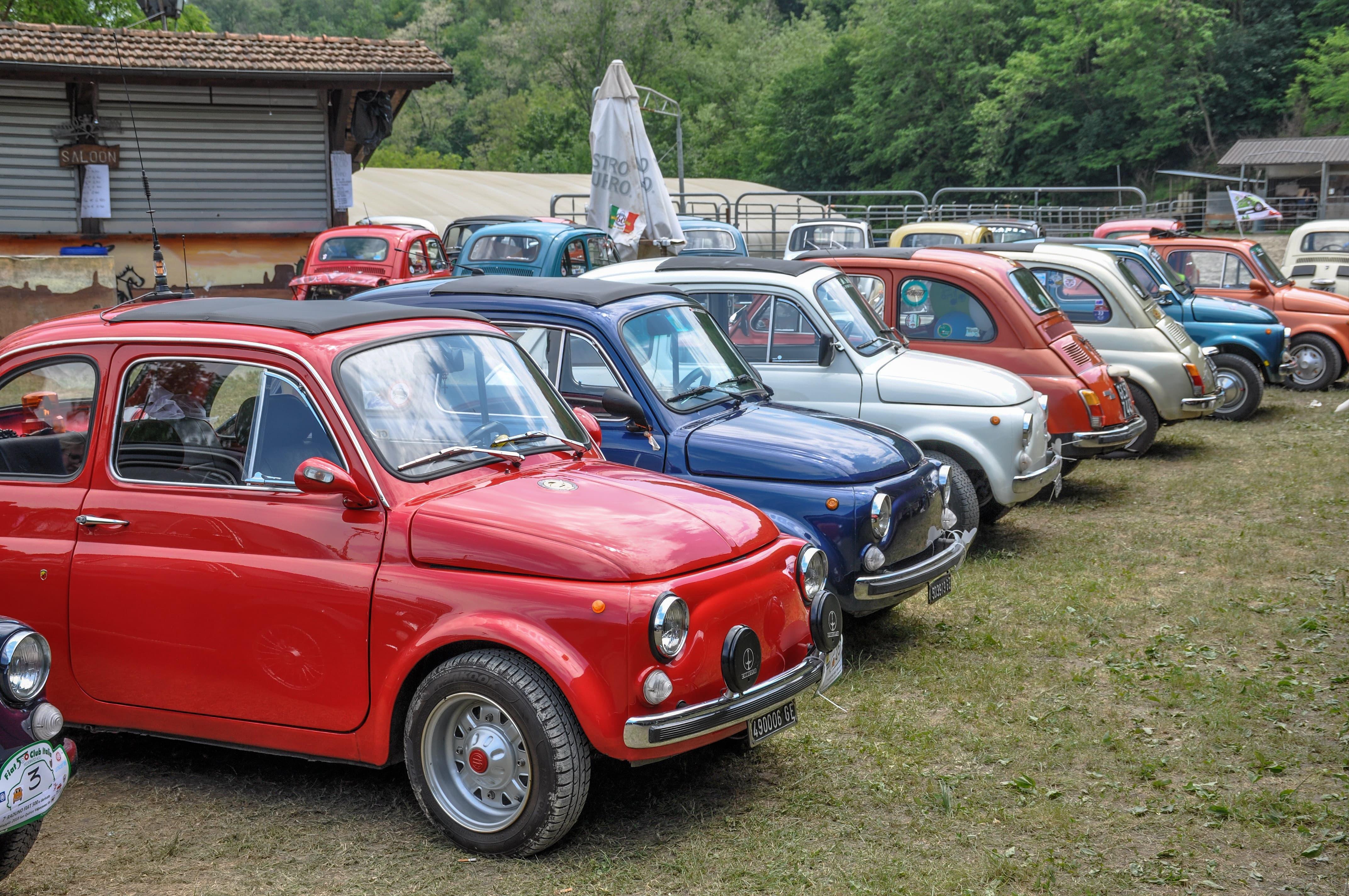 Calendario Raduni Fiat 500 2020.500 A Spasso Al Rodeo L Ottava Edizione Del Raduno Di